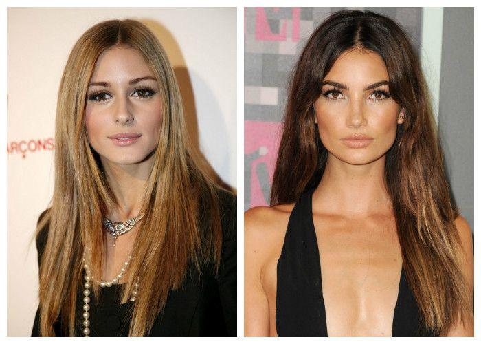 Стрижки на длинные волосы 2017: без челки