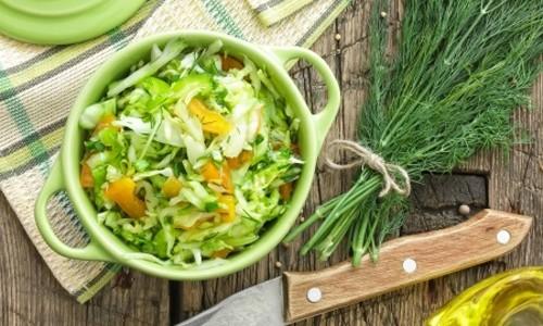 Салат из свежей капусты: очень вкусный рецепт