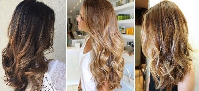 Модное окрашивание волос в 2017 году: сомбре