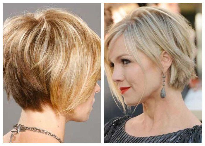 Стрижки на короткие волосы: поднятый затылок