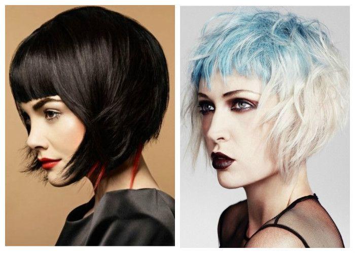 Стрижки на короткие волосы: модное окрашивание