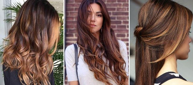 Модное окрашивание волос в 2017 году: тигровый глаз