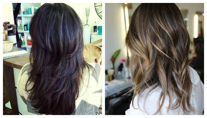 Модные женские стрижки для длинных волос 2017 (4)