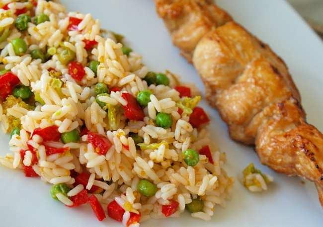 что приготовить из риса на ужин быстро и вкусно