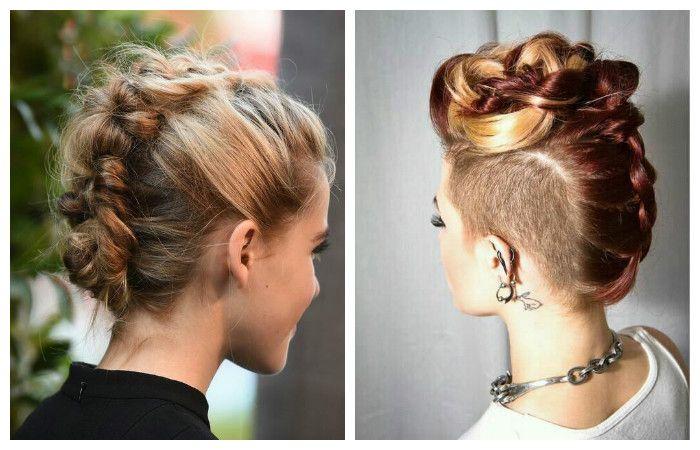 Модные прически 2017 на средние волосы: в стиле Кайзы