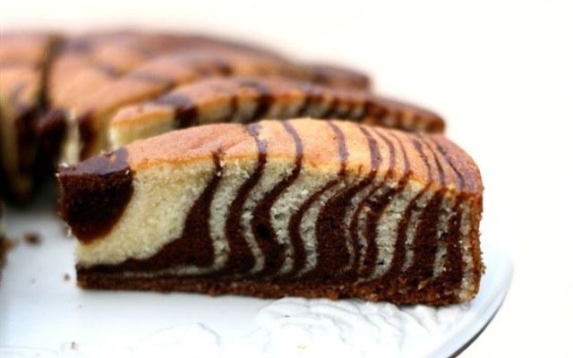 Пирог зебра рецепт с пошагово в домашних условиях на сметане