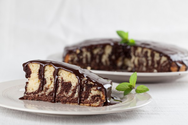 Торт зебра: рецепт пошагово