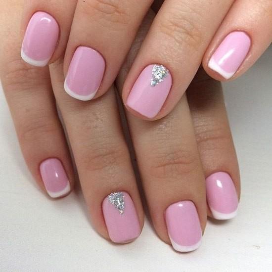 Гель лак на короткие ногти: дизайн 2017 (фото 2)