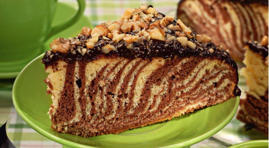 Сметанный торт зебра рецепт пошагово в домашних условиях 65