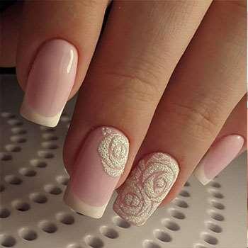 Дизайн ногтей 2017: фото новинки на свадьбу (1)