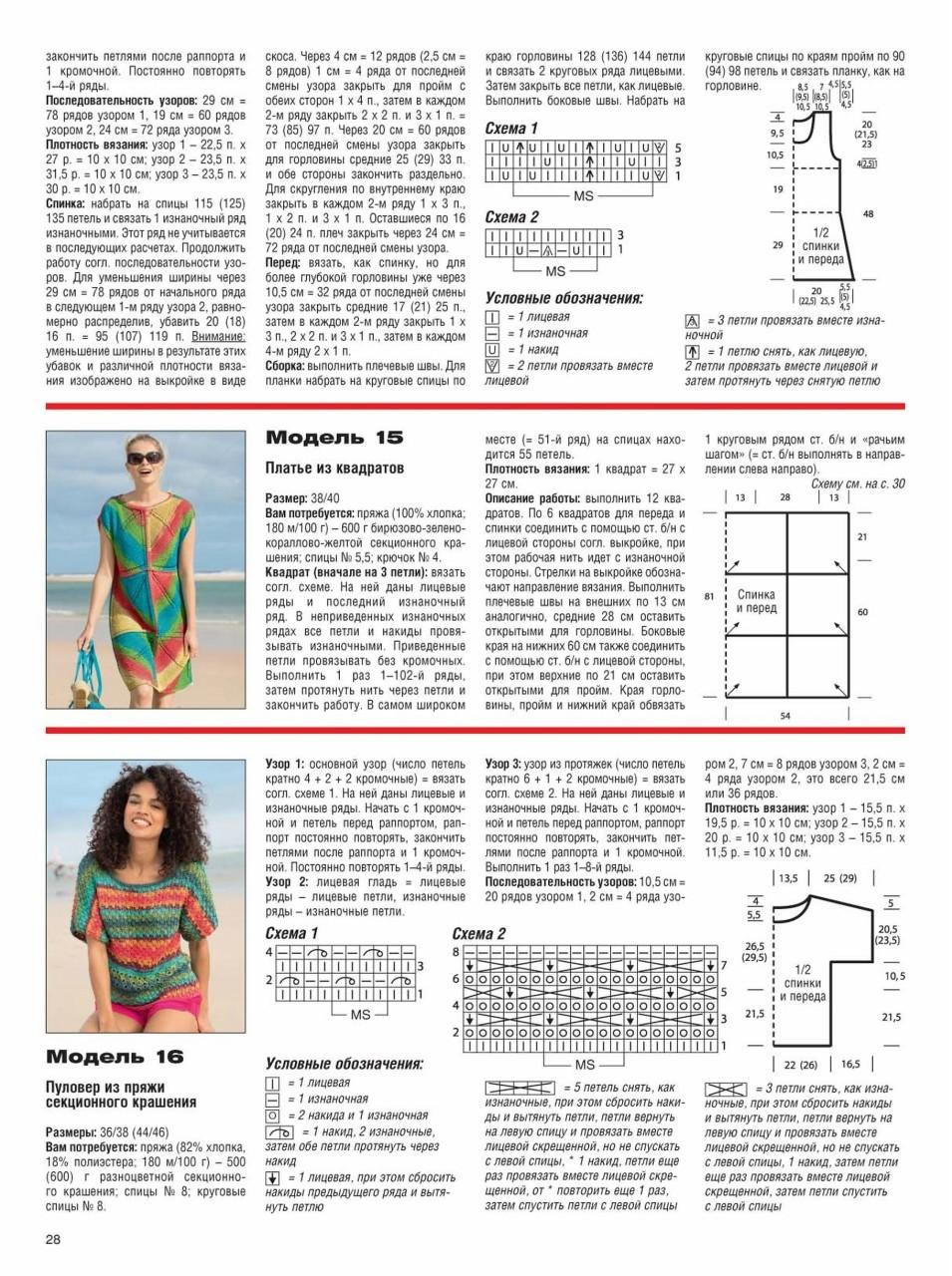 Вязание крючком для женщин лето 2017: яркие платья