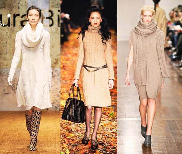 Вязание спицами для женщин: модные модели 2017