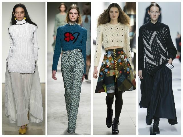 Вязание спицами для женщин: модные модели 2017: свитера