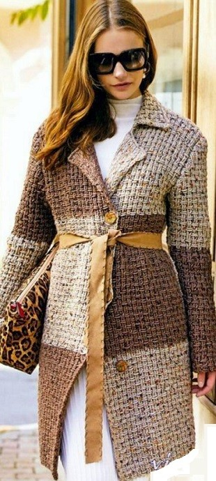 Вязание кардигана спицами для женщин: удлиненный с бортами