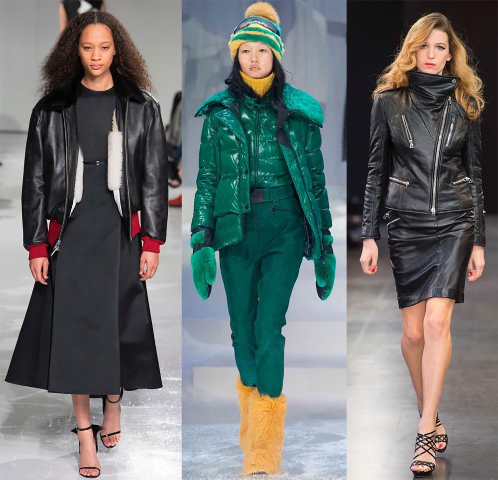 Женские куртки осень-зима 2017-2018: модные модели
