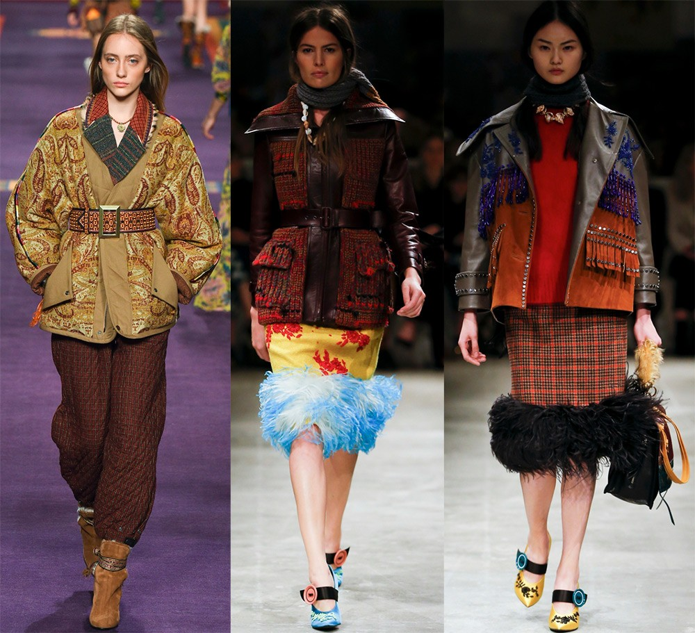 Женские куртки осень-зима 2017-2018: куртки с декором