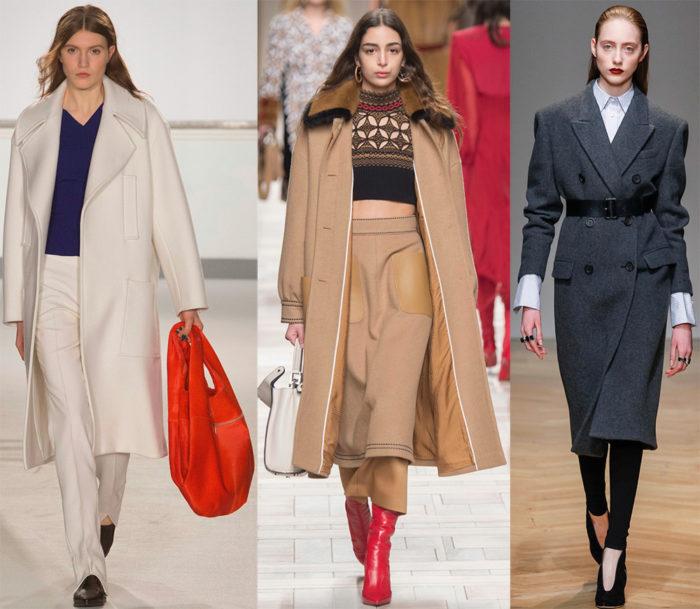 Пальто осень 2017 года: модные тенденции