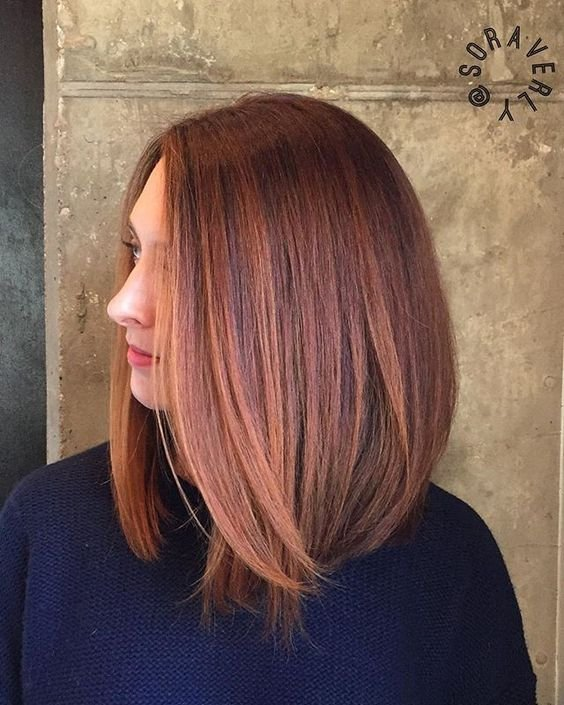 Женские стрижки 2017-2018 на средние волосы: бока каре