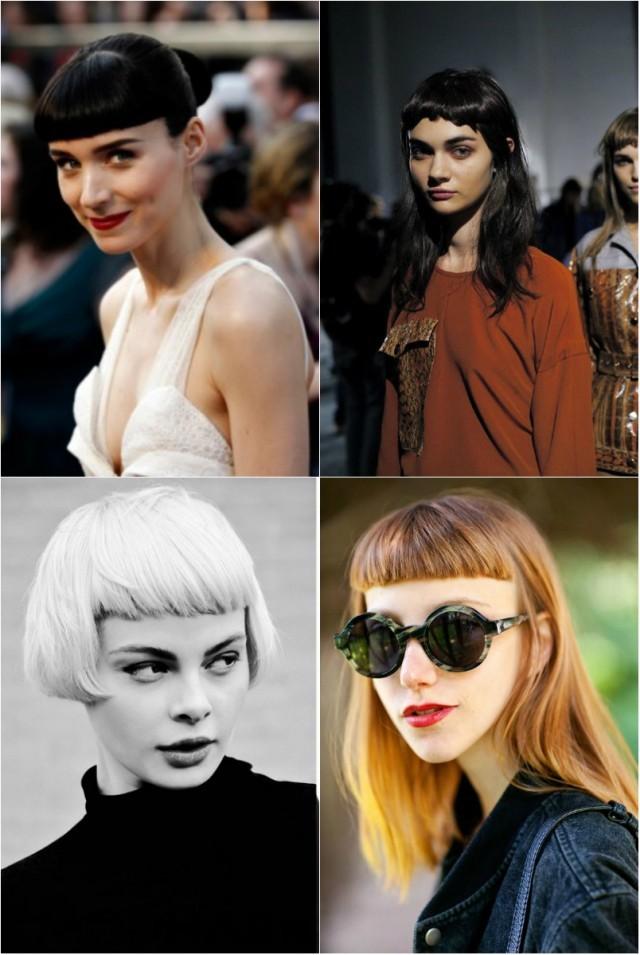 Модные стрижки 2017 женские на средние волосы: с короткой челкой