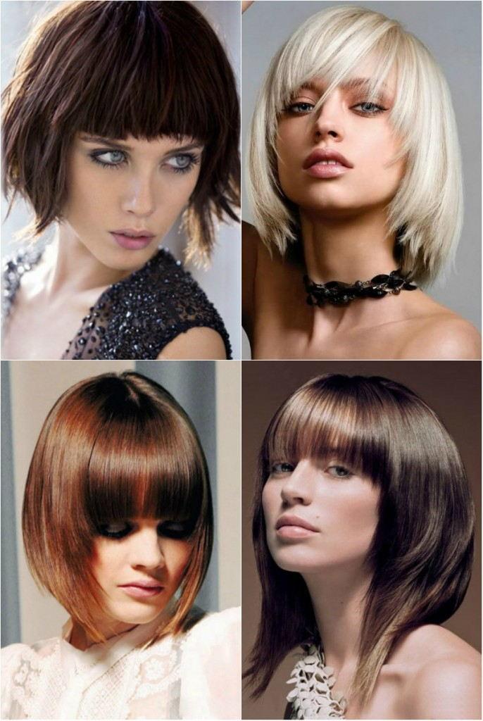 Женские стрижки на средние волосы 2018: градуированное каре