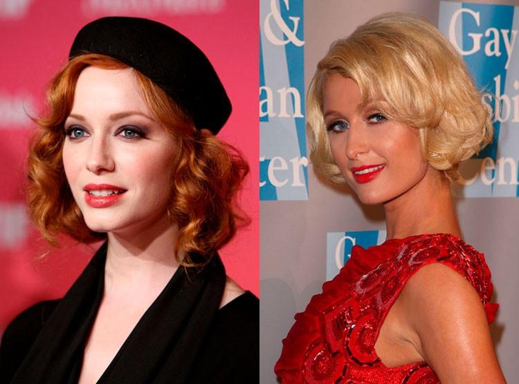 Прически 2018 женские на средние волосы: голливудские волны
