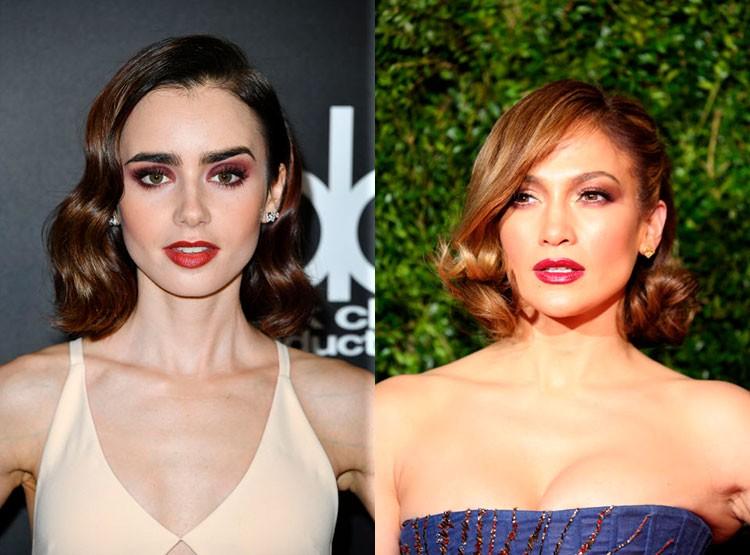 Прически 2018 женские на средние волосы: укладка набок