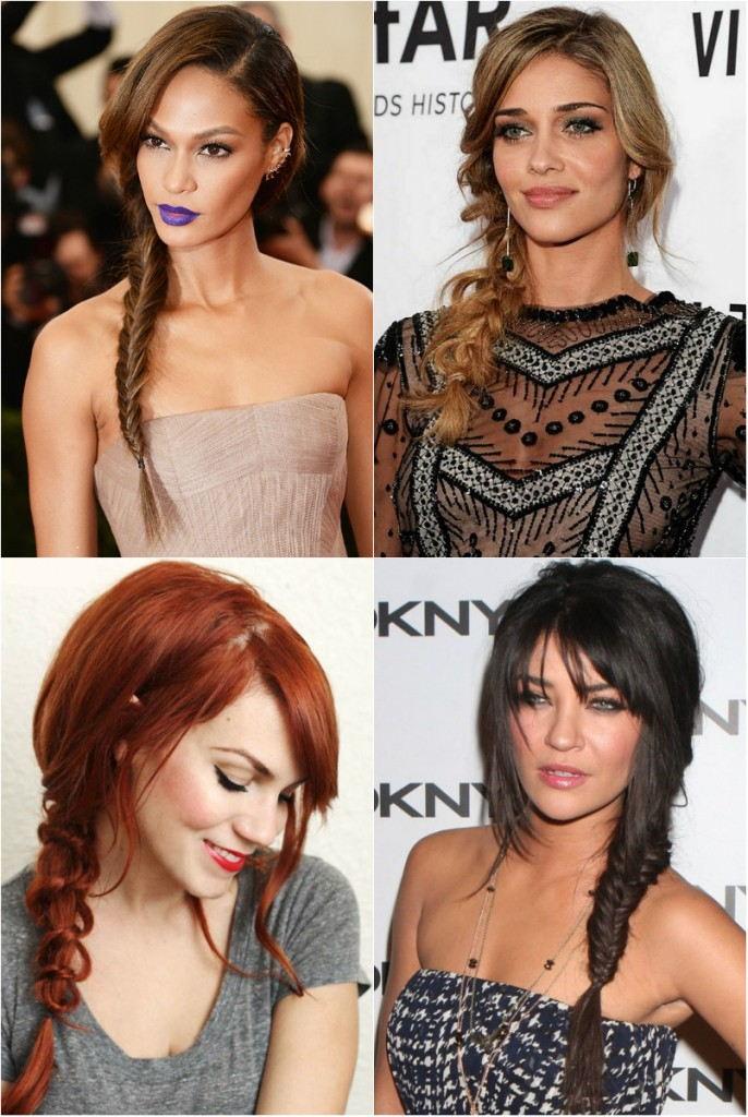 Прически 2018 женские на средние волосы: косы