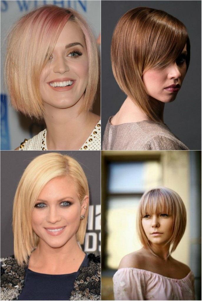 Прически 2018 женские на средние волосы: укладка боба