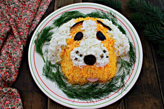 Что приготовить на новогодний стол год собаки
