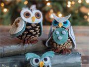 Новогодние поделки сова