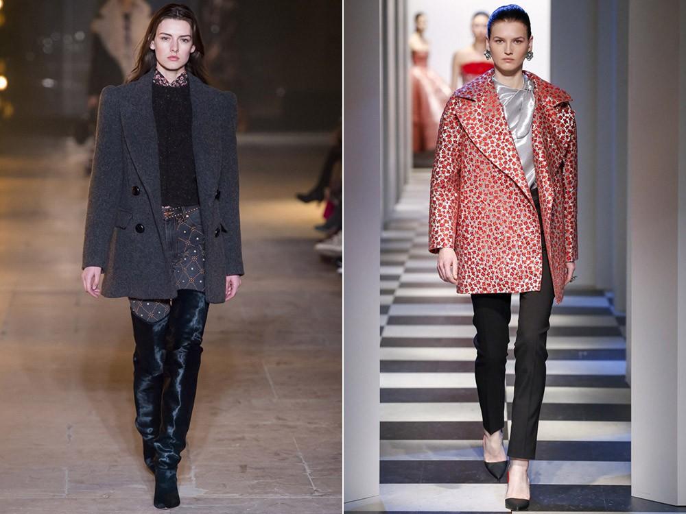 Модные пальто жакеты осень 2017
