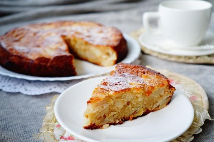Шарлотка с яблоками пошаговый рецепт с фото