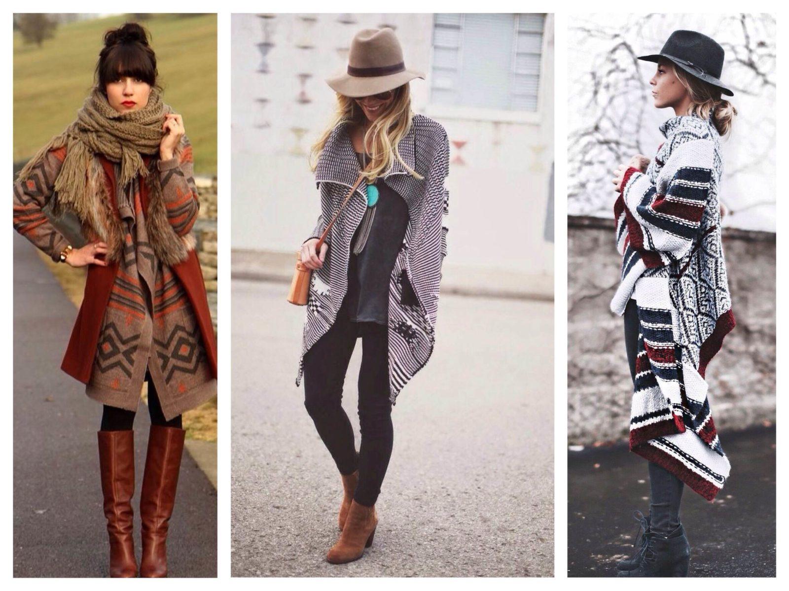 Стиль бохо для женщин за 50: модные пальто