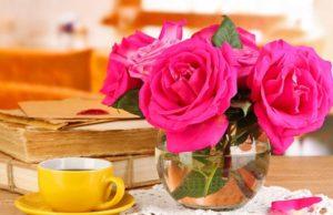 Чай да розы