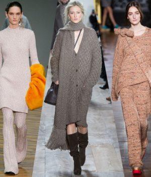 Вязаные модные вещи сезона 2015