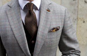 Завязываем галстук правильно