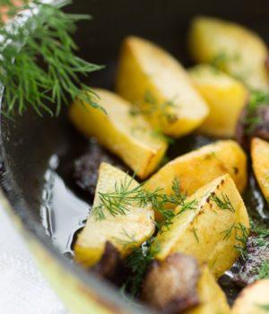 Картошка жаренная