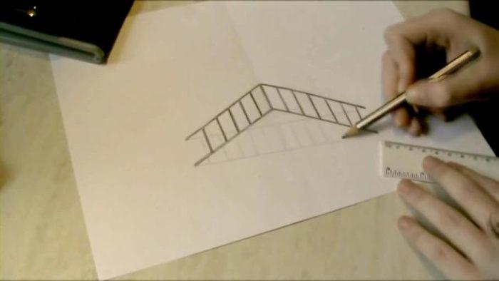 3d-рисунок-на-бумаге-карандашом-41-700x394 Как нарисовать 3д (3d) рисунок на бумаге карандашом