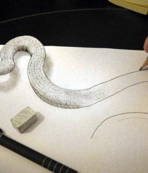 Объемное изображение на бумаге своими руками