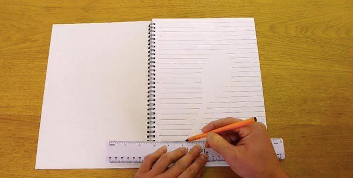 kak-narisovat-3d-risunok-na-bumage-031-700x354 Как нарисовать 3д (3d) рисунок на бумаге карандашом