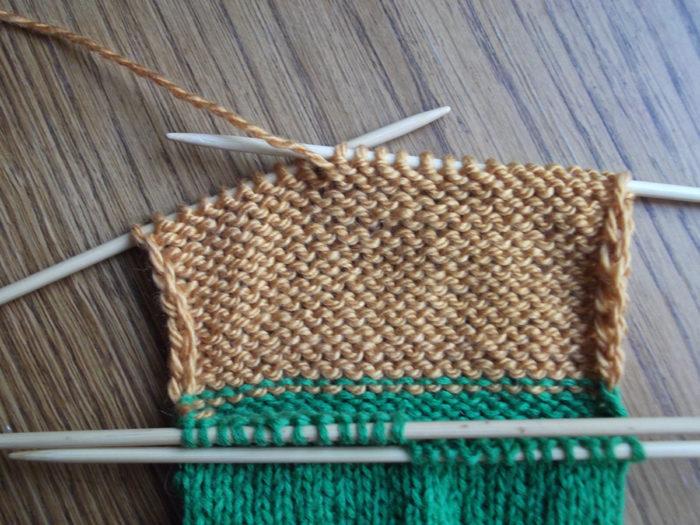 Как вязать носки спицами: пошаговый мастер класс 8