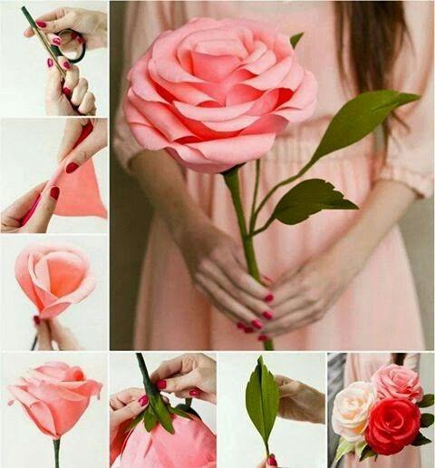Проект розы своими руками 561