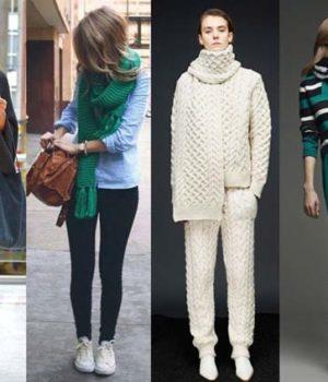 Модные шарфы 2017 года