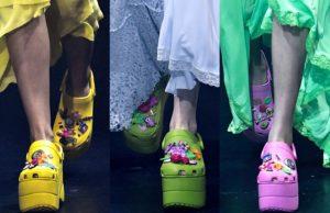 Модные кроксы 2018 года