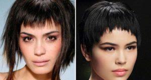 Модели стрижек на средние волосы