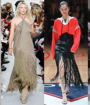 Модные наряды 2018 года