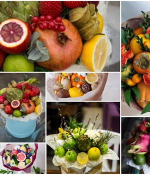 Как сделать фруктовый букет?