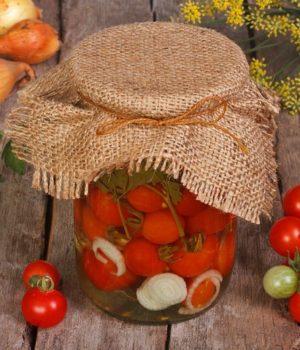 Обалденные помидоры черри в желе