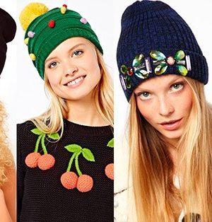 Модные модели шапок спицами