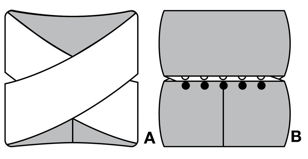 Снуд крючком: выкройка для шарфа